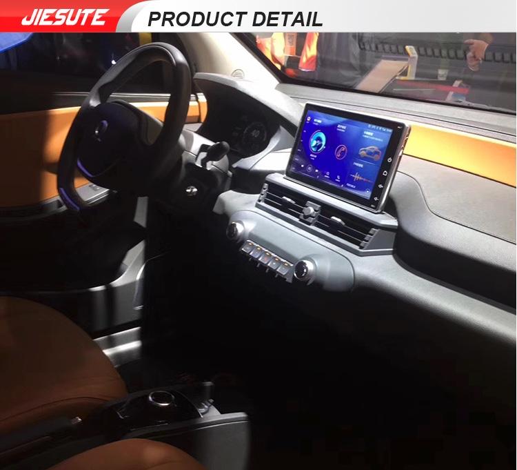 wnętrze elektrycznego samochodu