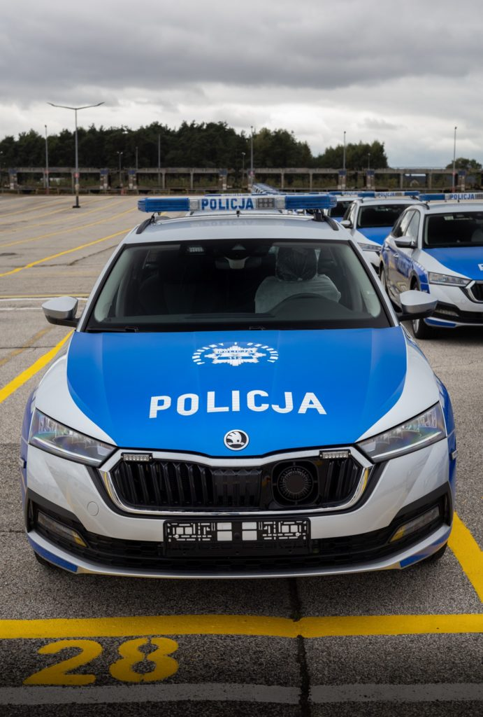 Skoda Octavia Policja