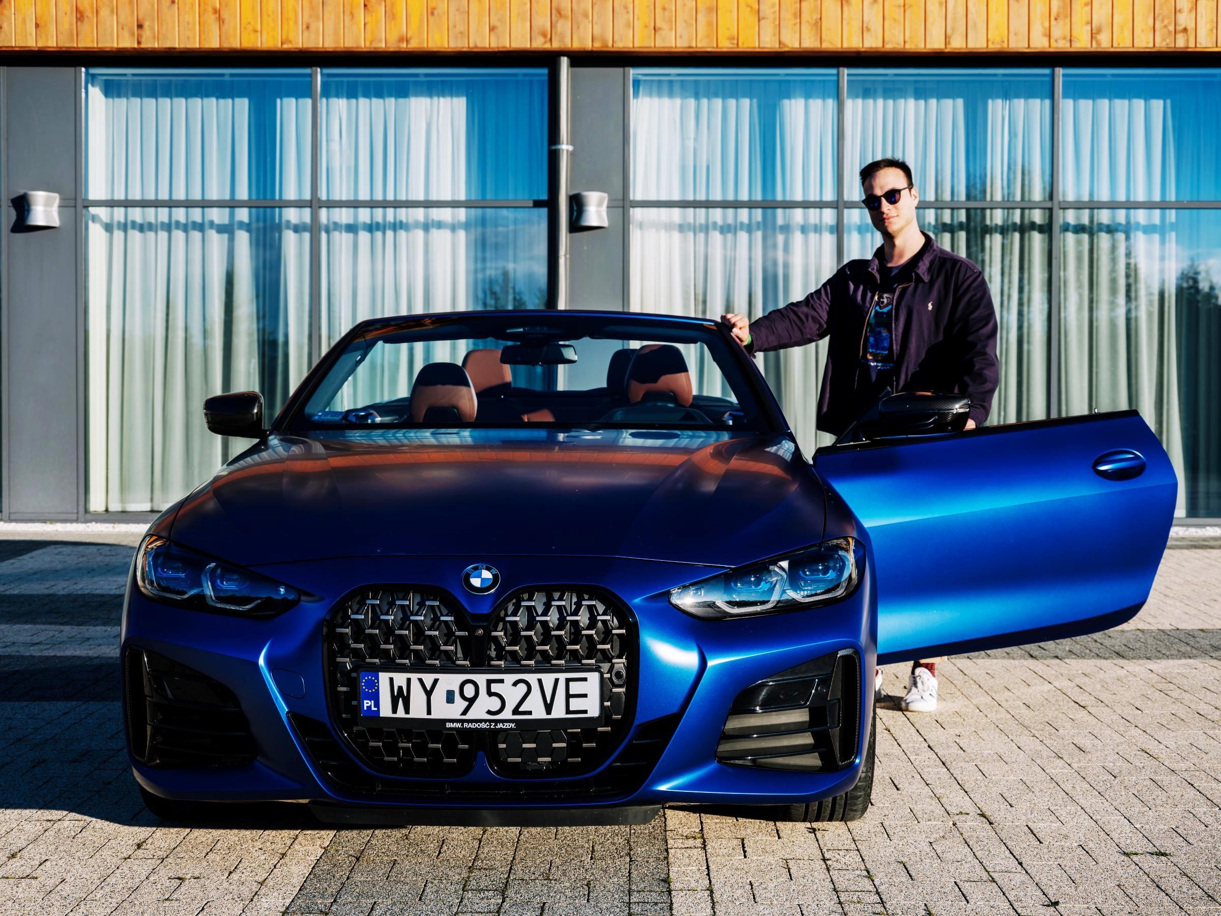 BMW M440i cabrio test
