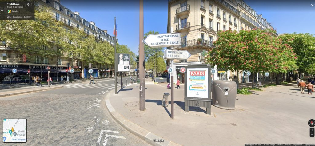paryż likwiduje drogowskazy