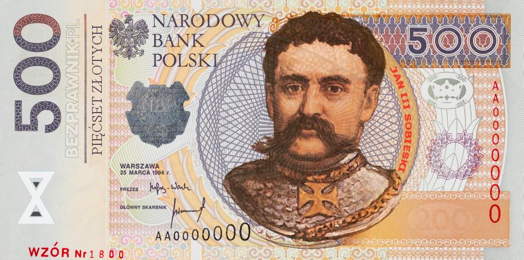 Powstanie banknot 500 zł z Sobieskim – oto nasza propozycja