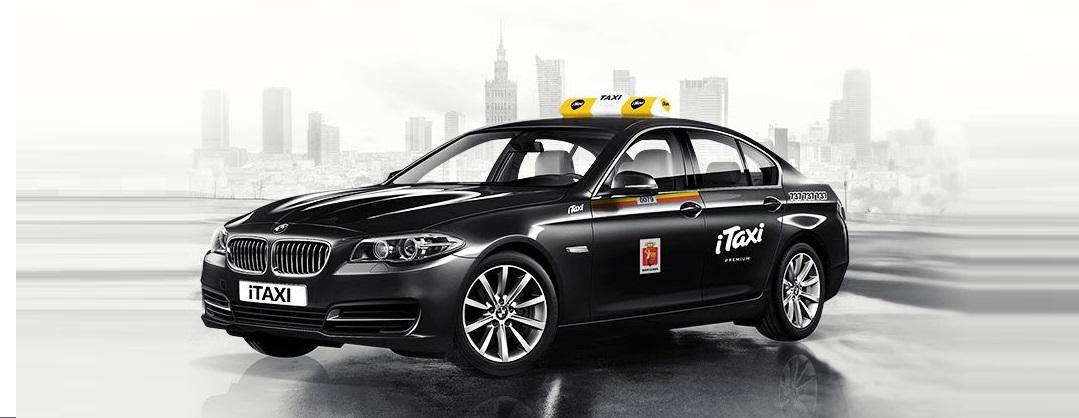 """""""Legalne"""" iTaxi.pl odpowiada Uberowi za pomocą BMW serii 5"""