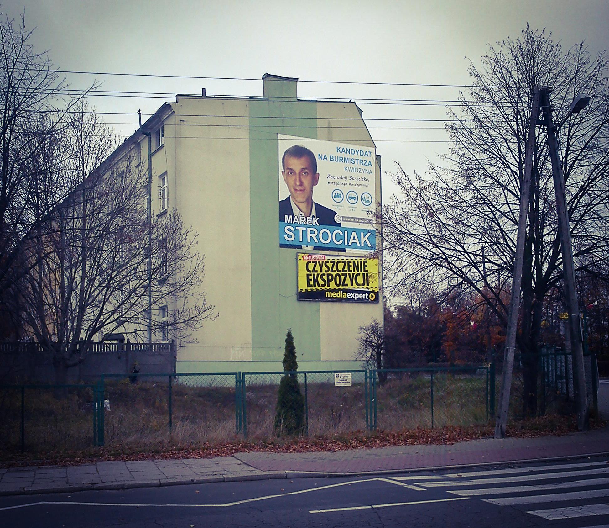 Przed Wyborami Gdynia Zakazuje Plakatów Wyborczych