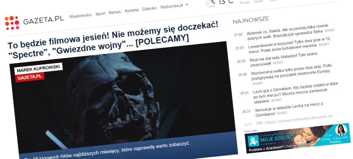 Gazeta.pl z symbolu walki o wolność stała się liderem cenzury prewencyjnej ws. imigrantów