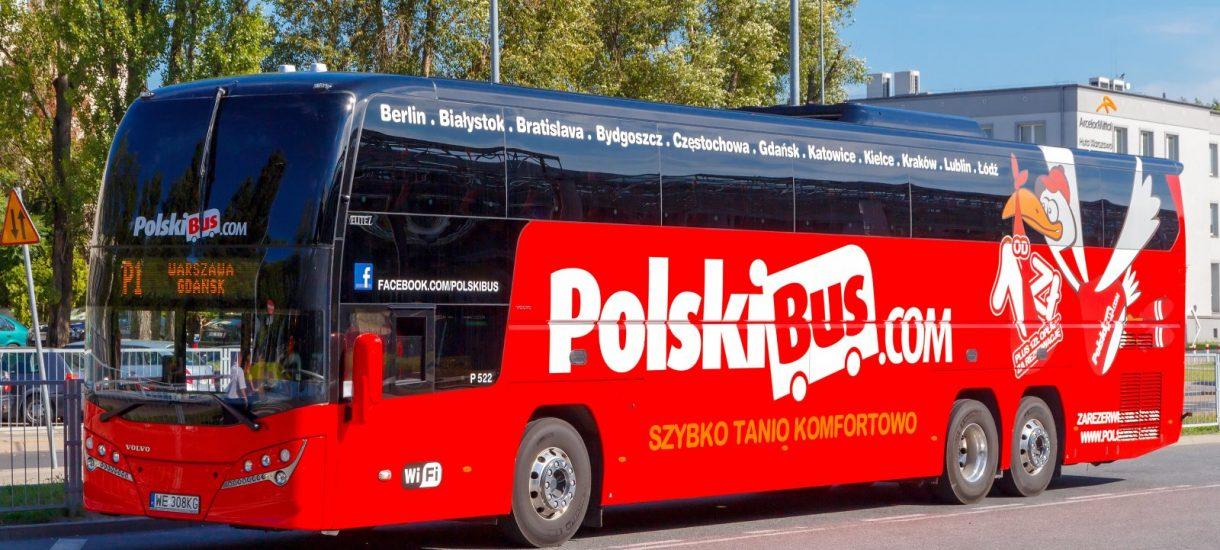 PolskiBus zawitał m.in. do Płocka – przewoźnik otwiera nowe trasy dla 17 miast