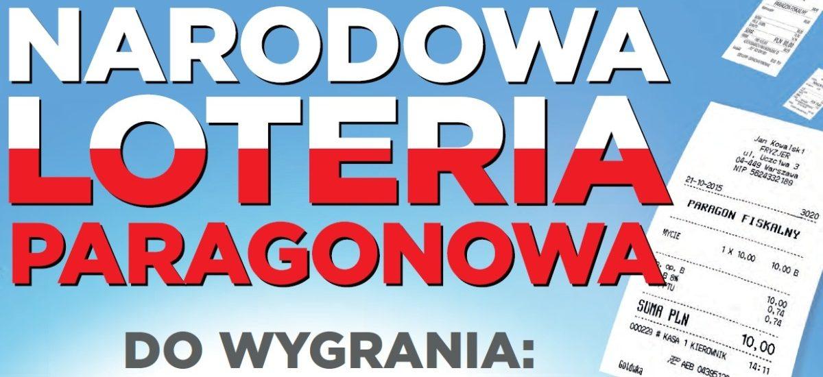 Loteria Paragonowa: zgłoszono już ponad 5,5 miliona paragonów