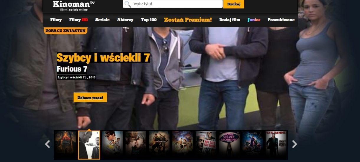 Kinoman.tv nie działa i nic dziwnego – wielki wyciek danych użytkowników serwisu