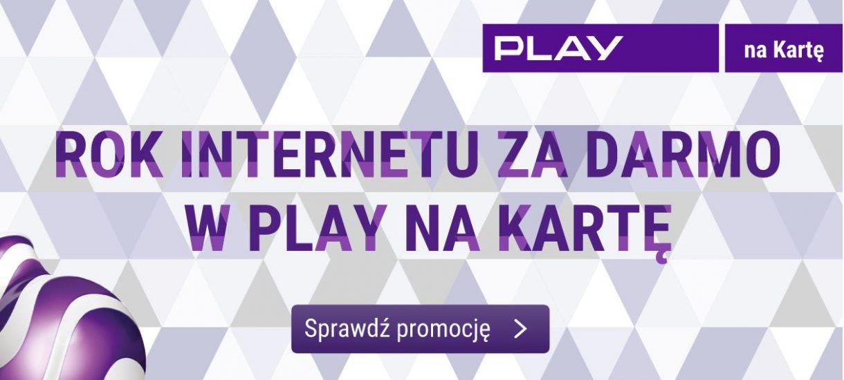 """Rok internetu za darmo w Play na kartę – szukamy """"kruczków"""" w promocji"""