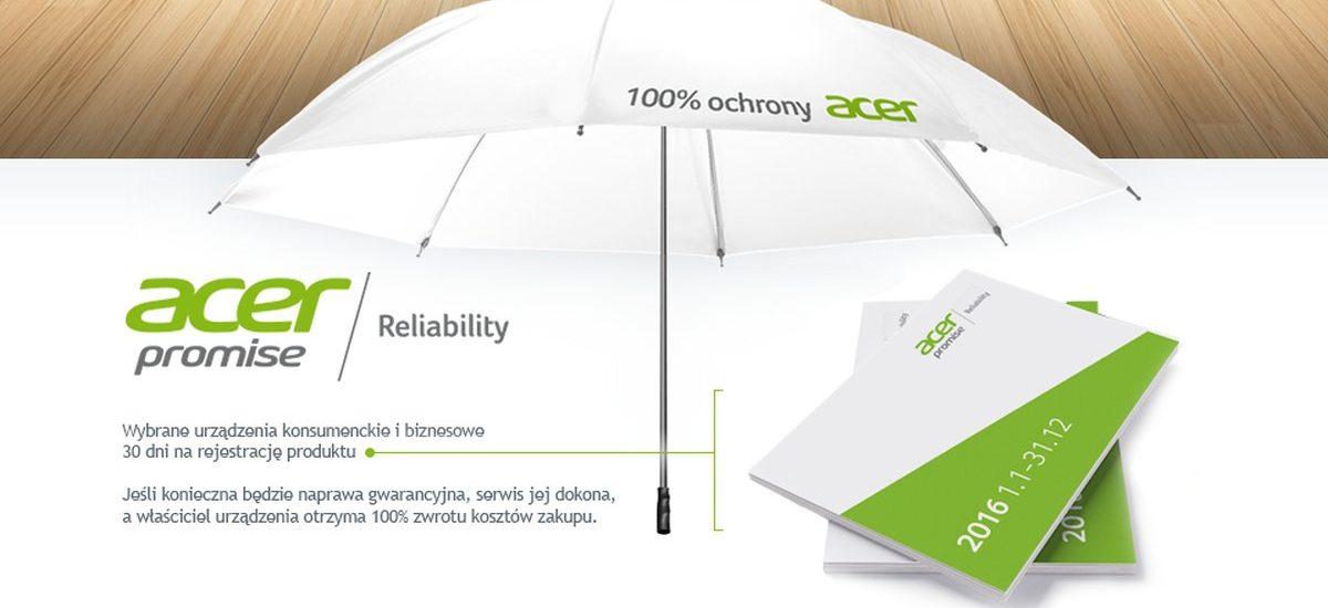 Promocja Acera – jeśli sprzęt się popsuje, naprawią go. Po czym… zwrócą pieniądze