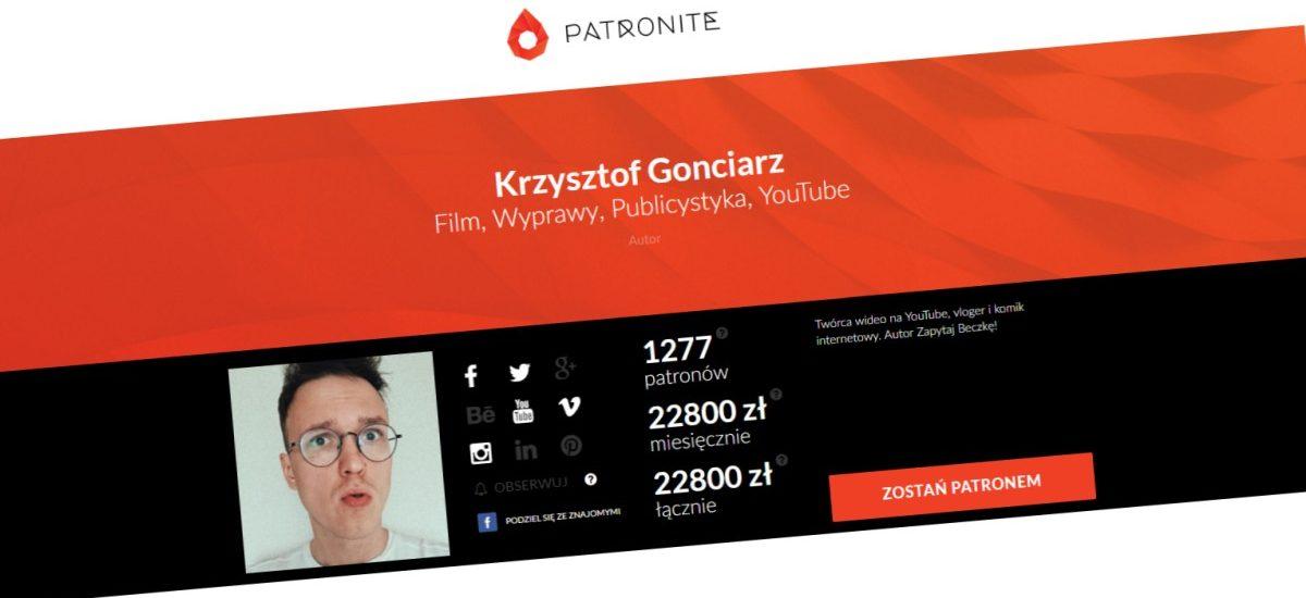 Czy Krzysztof Gonciarz będzie musiał tworzyć tylko dobre filmy?