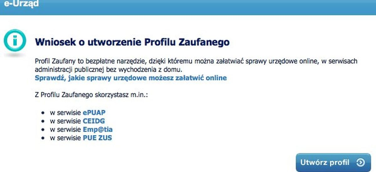Od dziś profil zaufany można utworzyć w banku – w końcu od ręki dogadamy się z urzędami przez internet