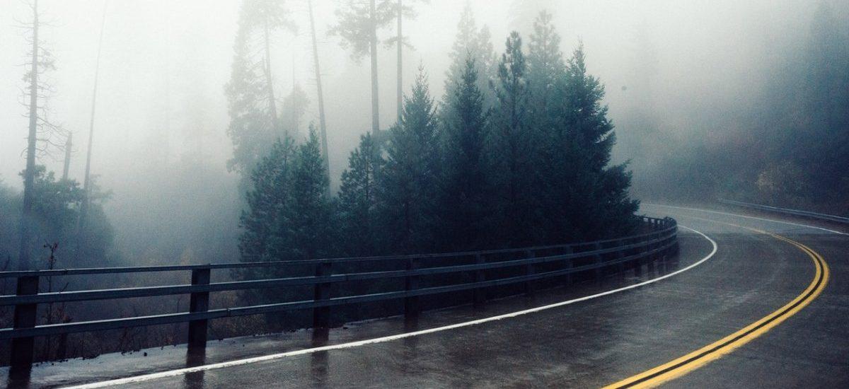 Karambol we mgle? Uciekaj z samochodu i nie zadawaj pytań