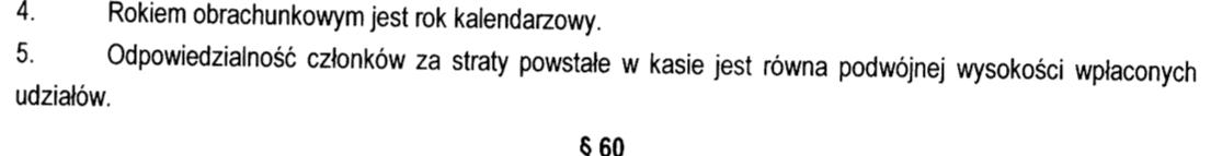 SKOK Wołomin - statut
