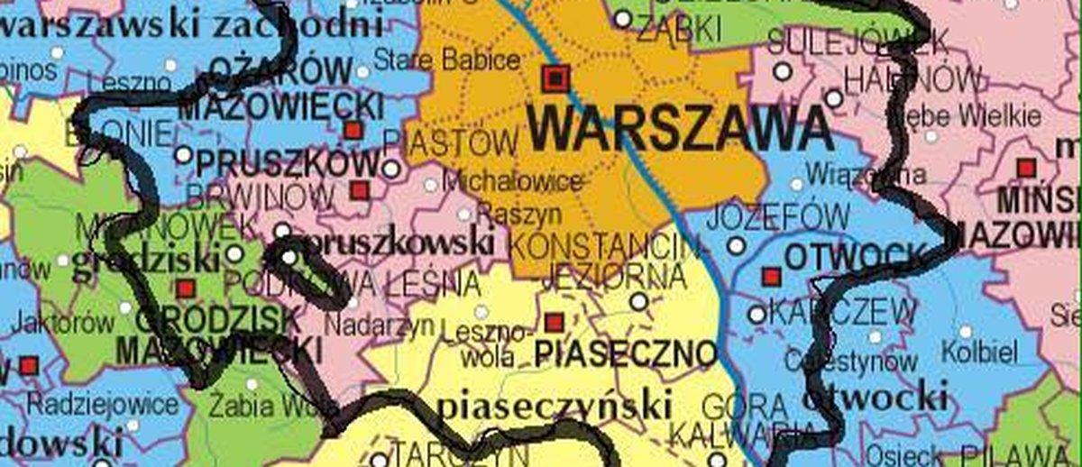 Obrazek dnia: Jak słonie w składzie porcelany z PiS wytyczały nowe granice Warszawy