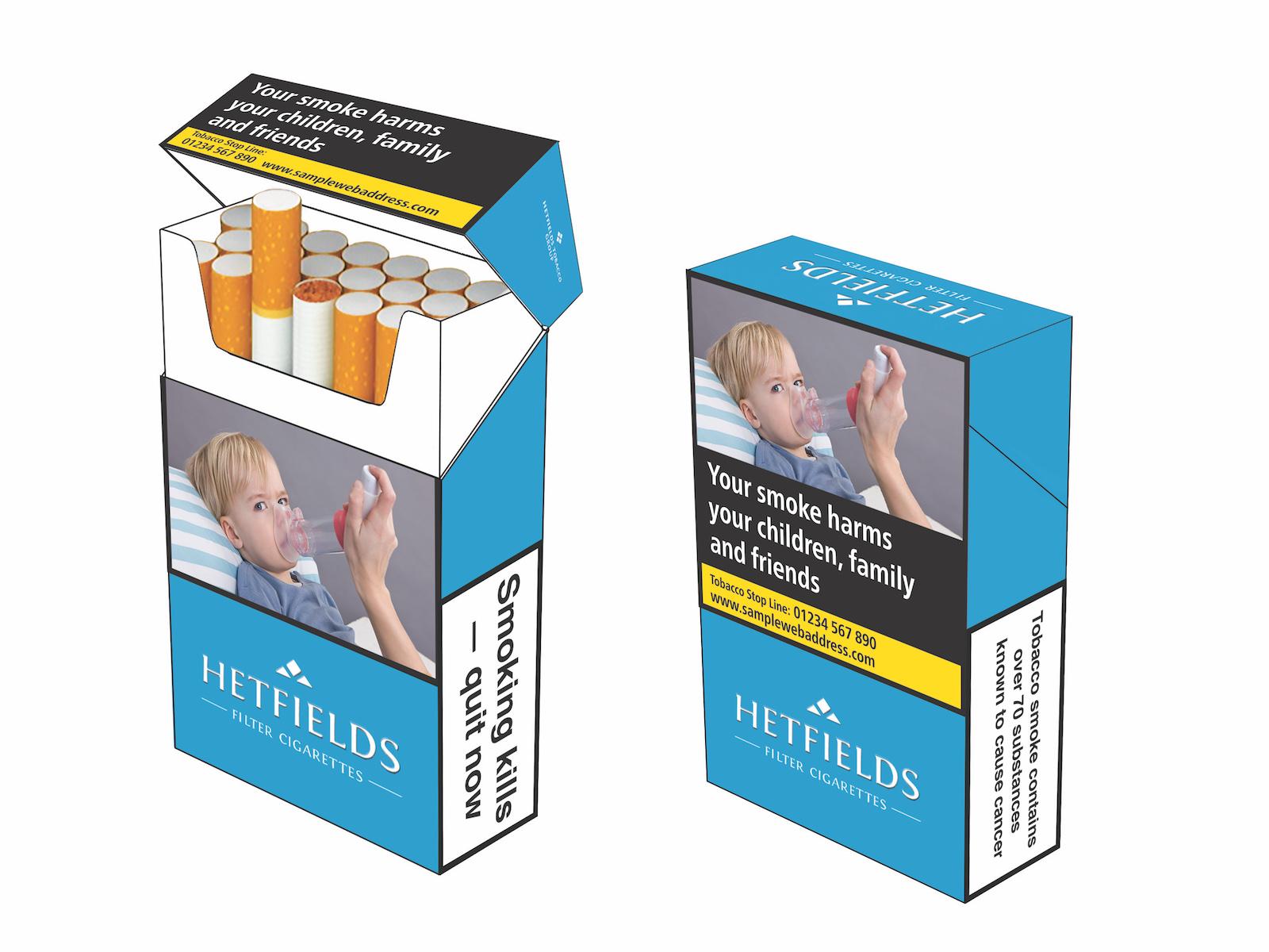 opakowanie papierosów
