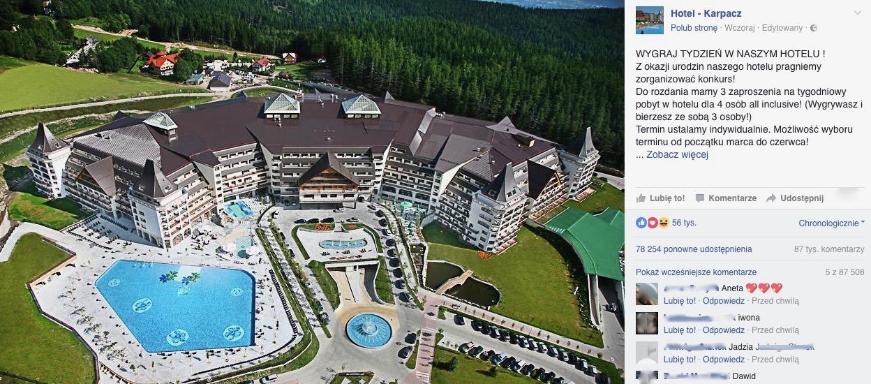 Hotel Karpacz - oszustwo