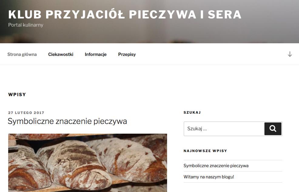 Klub Przyjaciół Pieczywa i Sera