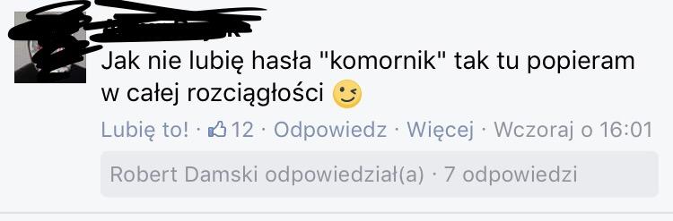 komornik lubiany przez Polaków