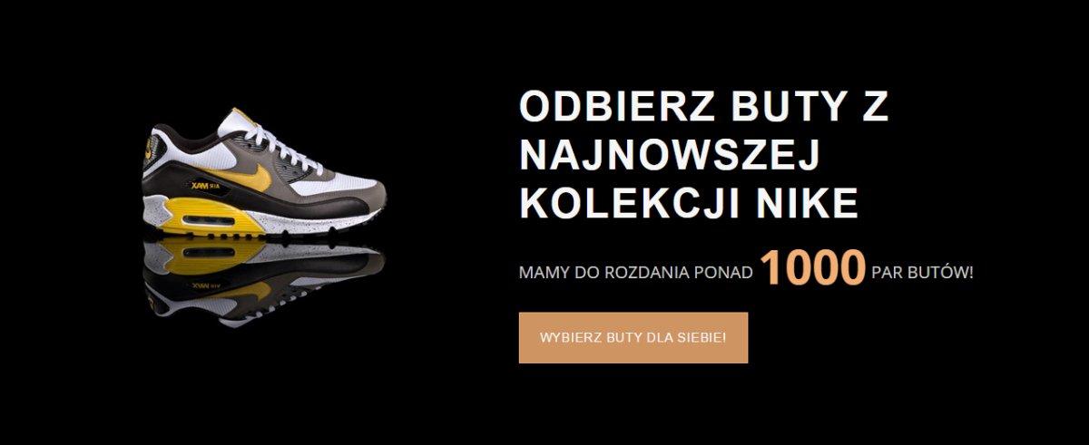 Nike Rozdaje Buty – Promocja – oszuści na Facebooku tym razem działają w zamkniętej grupie