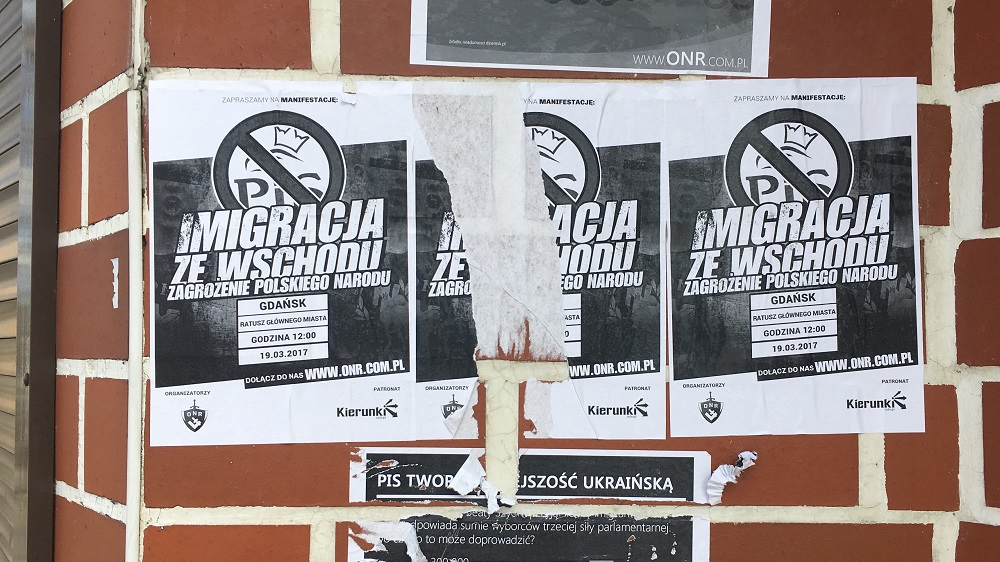 Ukraińcy w Polsce - ONR protestuje