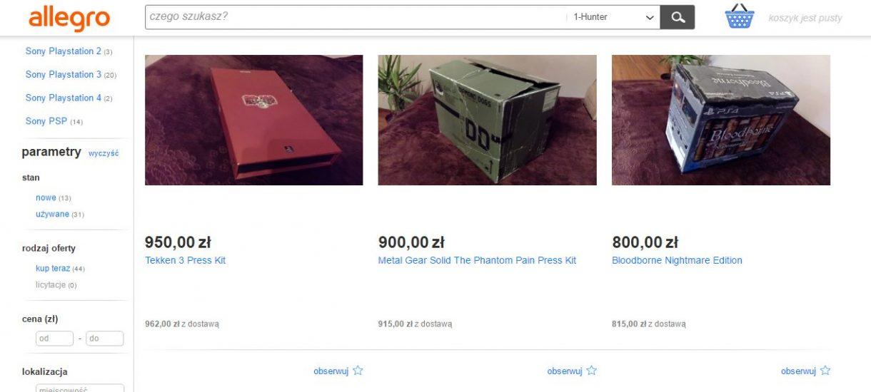 Blogerzy i YouTuberzy dostają masę prezentów od firm. Chcecie wiedzieć jakie? Wystarczy wejść na Allegro…