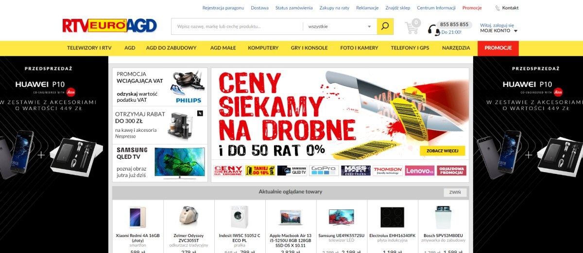 RTV Euro AGD sprzedawał w nocy sprzęt foto za pół darmo, a od rana anuluje zamówienia. Czy może to robić?