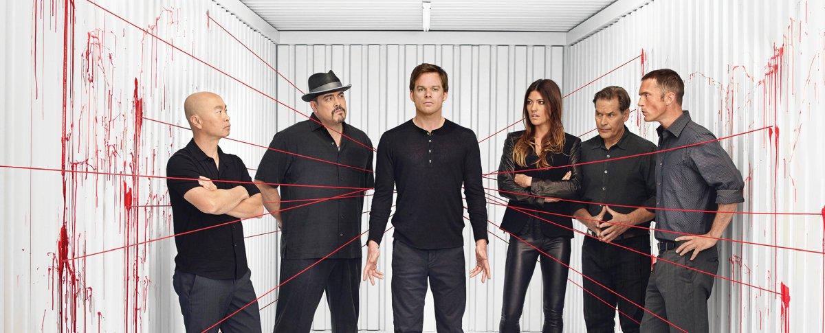 Krew na ścianie. W Dexterze było więcej życia, niż myśleliście