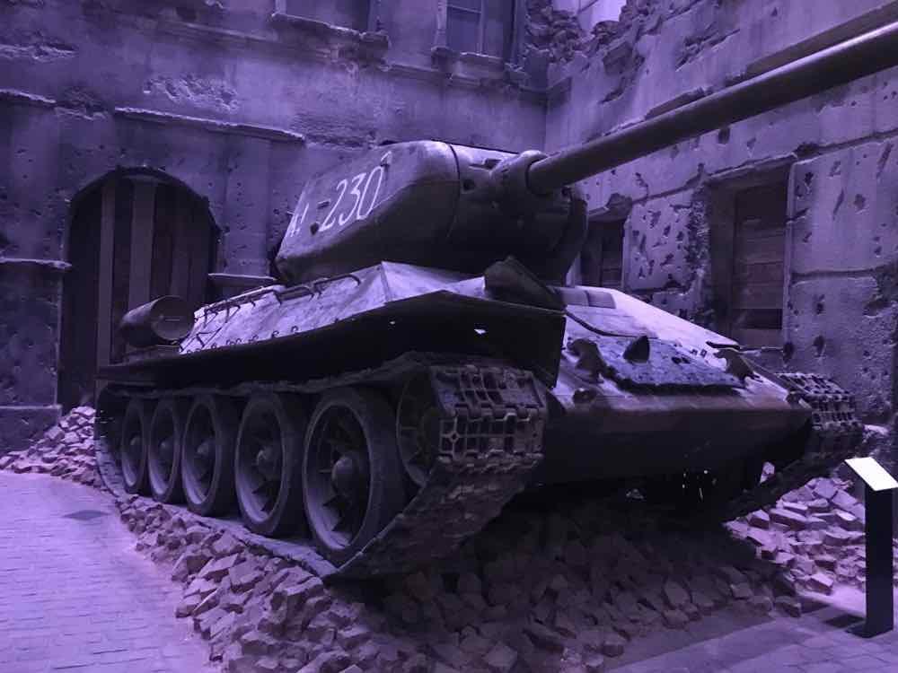 Muzeum II Wojny Światowej - czołg