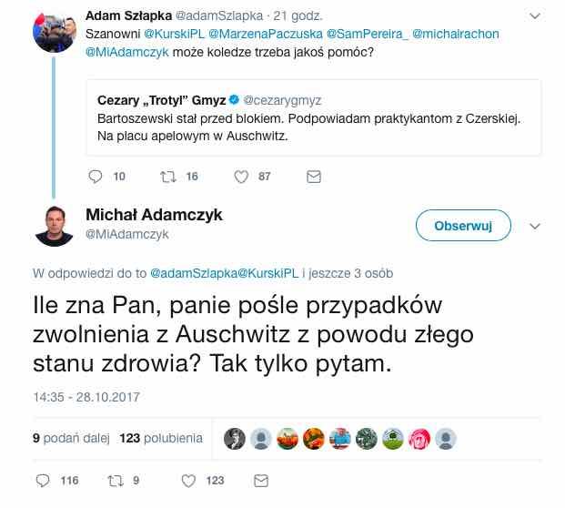 Bartoszewski - Adamczyk ocenia