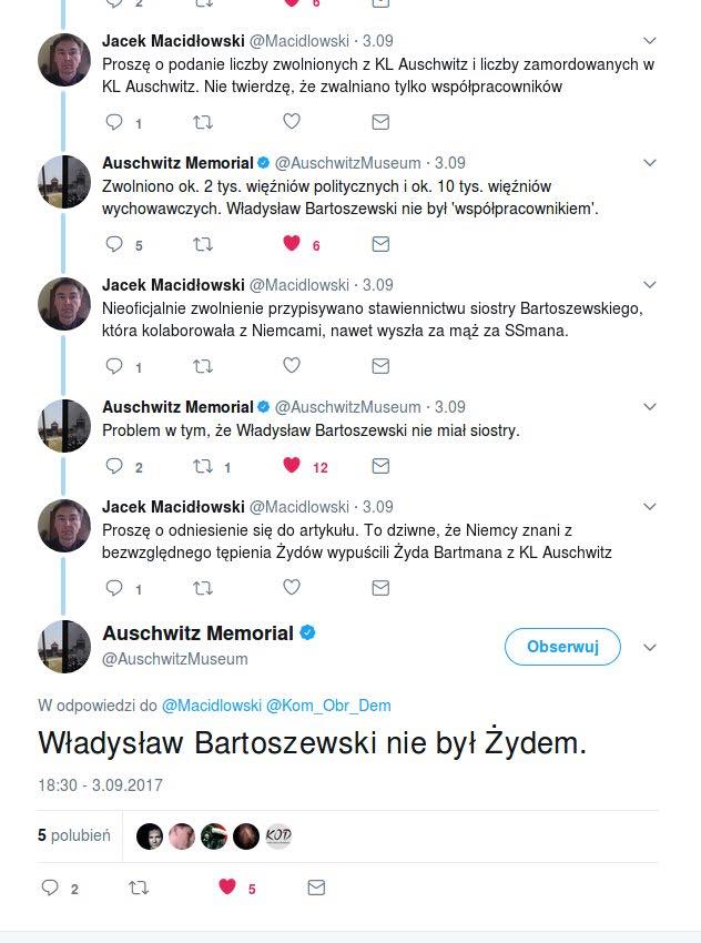 Władysław Bartoszewski w Auschwitz