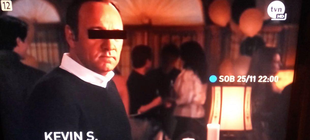Tylko w TVN obejrzymy American B. z aktorem Kevinem S. – ktoś się chyba za bardzo wczuł w sprawę Spaceya