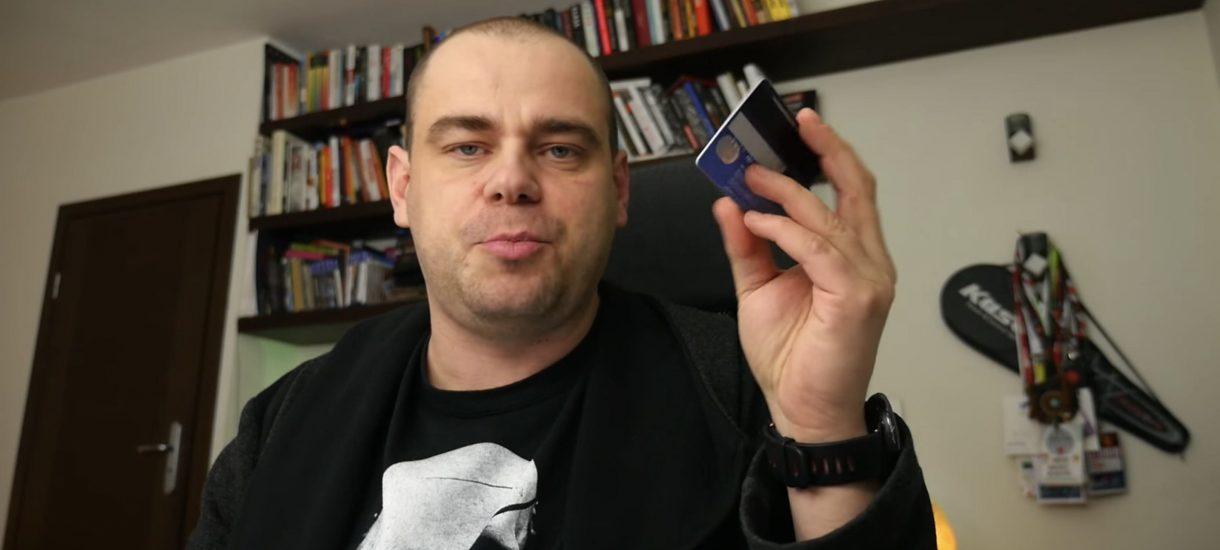 Bloger o pseudonimie Mediafun prowokacyjnie wrzucił do sieci zdjęcie karty kredytowej. Wystarczyło 5 minut…