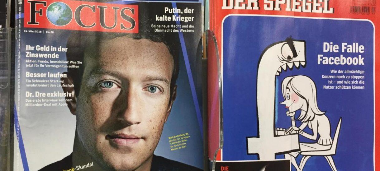 Dlaczego afera Facebooka stała się tak wielka? To media mszczą się na Zuckerbergu