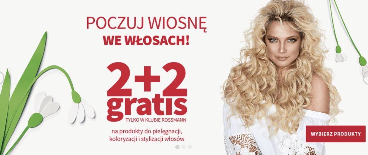Aplikacja Rossmann bije rekordy popularności po promocji 2+2 gratis do pielęgnacji włosów