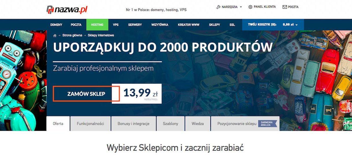 Nazwa.pl chce od swoich klientów 2000 zł za audyt (!) sklepu internetowego i 500 zł miesięcznie (!!!) za obsługę RODO
