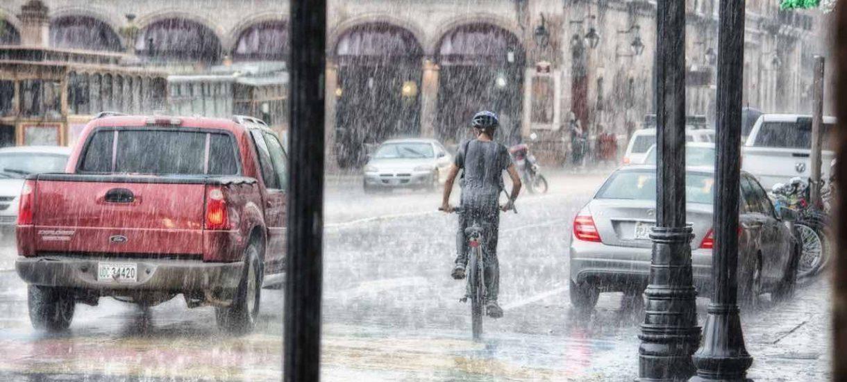 Nie potrzeba nam terrorystów. W Gdańsku po 30 minutach deszczu jest powódź na ulicach
