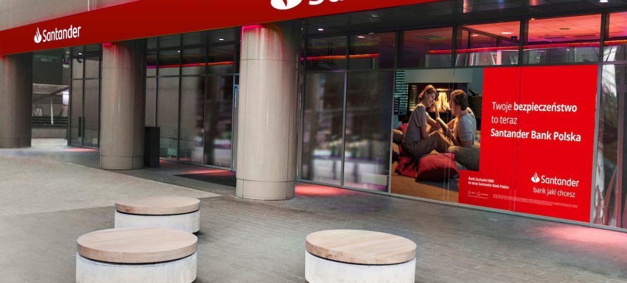 Co się stało z BZ WBK? Spokojnie, Santander Bank naprawdę zastąpił znaną markę