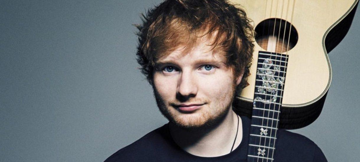 To jest Ed Sheeran. W Wielkiej Brytanii płaci większe podatki niż Starbucks i Amazon. I tak, to jest problem