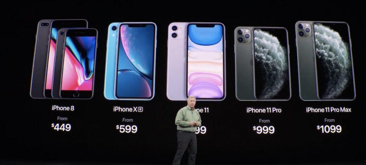 Ile kosztuje iPhone 11 na firmę?