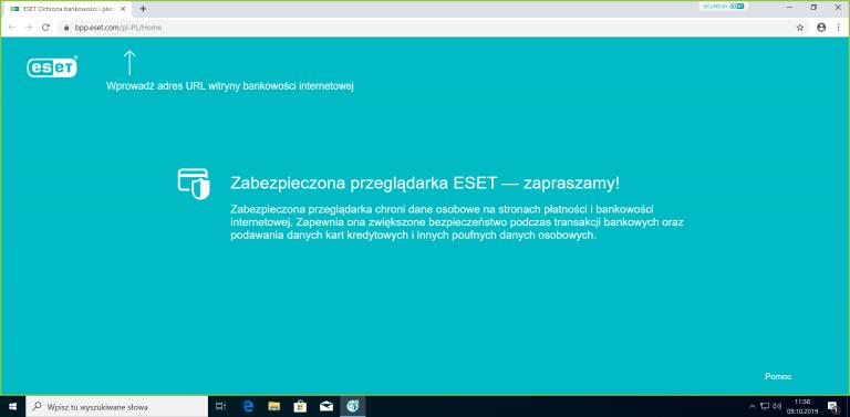 bezpieczne korzystanie z bankowości internetowej bezpieczna przeglądarka eset
