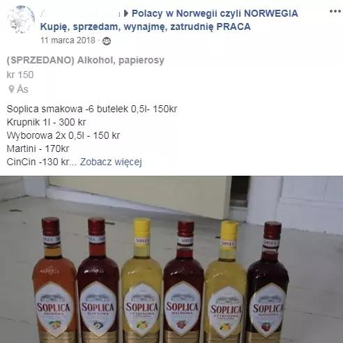 Norweska policja monitoruje media społecznościowe alkohol