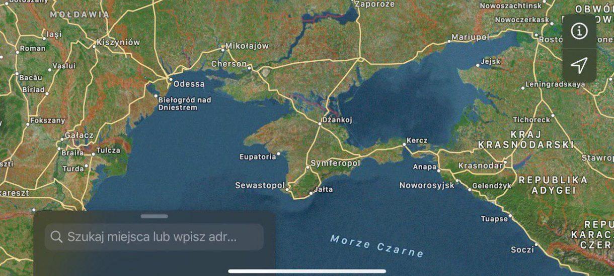 Aneksja Krymu przez Apple to najlepszy przykład tego ile znaczą zachodnie wartości w tle wschodnich pieniędzy