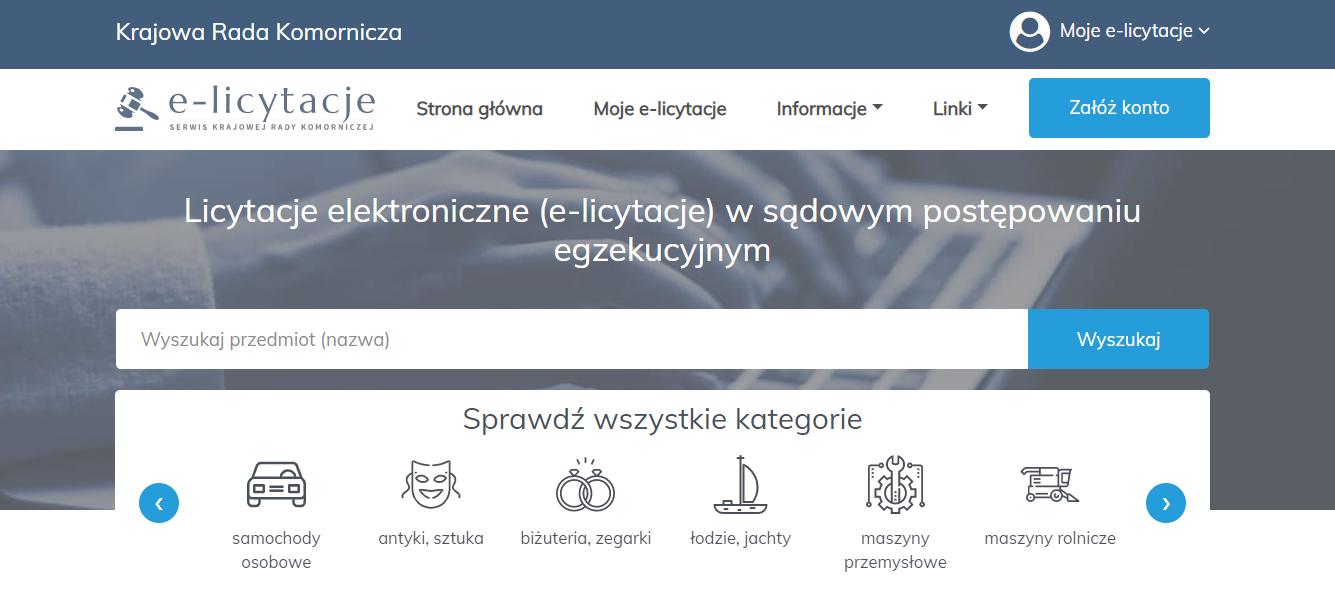 Licytacje Komornicze Jak Aukcje Na Allegro Wlasnie Ruszyl Nowy Portal