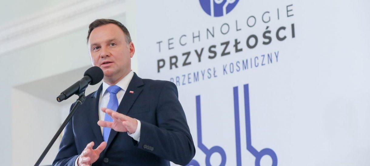Andrzej Duda chce rewolucji w paragonach. Ma się na nich znaleźć kwota wydana na polskie produkty
