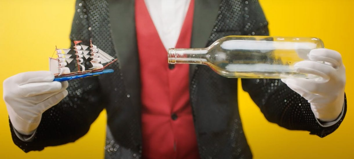 Dzień z życia zawodowego nabijacza w butelkę