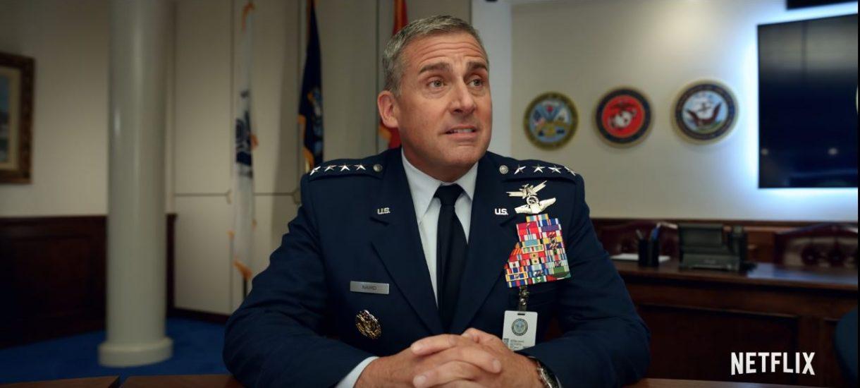 """Amerykańskie wojsko może stracić prawa do nazwy """"Space Force"""". Przez serial Netflixa"""