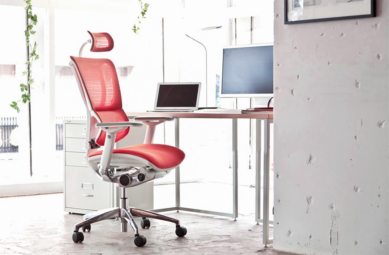Fotel do biura dobry dla kręgosłupa