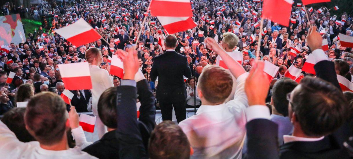 Andrzej Duda wygrał tylko w sześciu województwach. To sygnał dla rządzących, by nie lekceważyli mieszkańców pozostałych dziesięciu