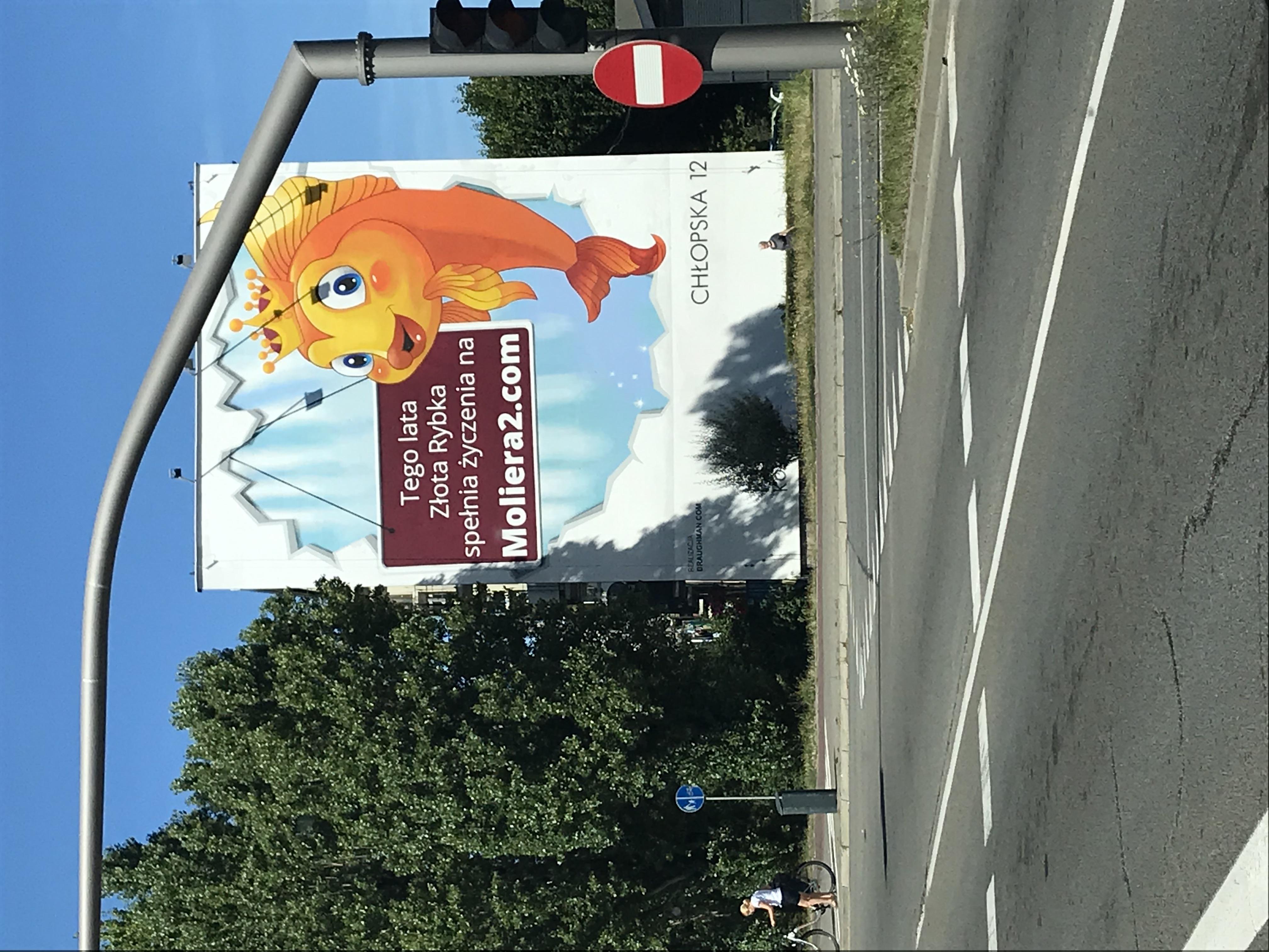 mural przy ul. Chłopskiej