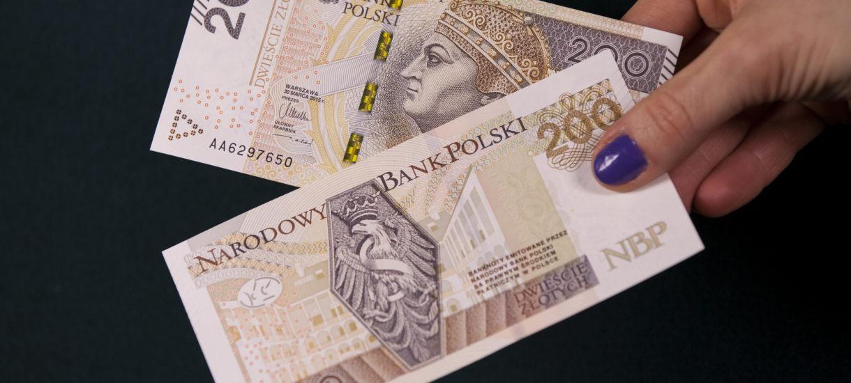 Mamy banknoty z Mieszkiem, Chrobrym i Kazimierzem Wielkim. Teraz będziemy mieli jeszcze z Lechem Kaczyńskim